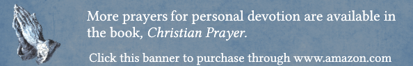 Christian Prayer, Banner